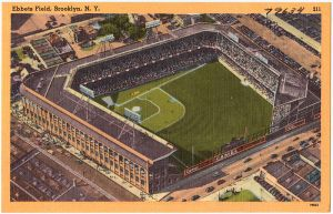 By Boston Public Library (Flickr: Ebbets Field, Brooklyn. N. Y.) [Public domain], via Wikimedia Commons