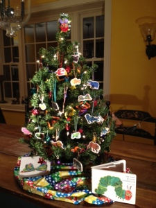This year's finished tree