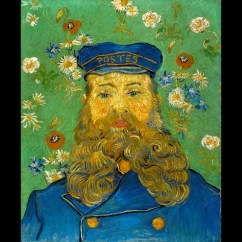 VINCENT VAN GOGH The Postman Joseph Roulin, February–March 1889. Collection Kröller-Müller Museum, Otterlo