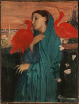 Young Woman with Ibis, by Edgar Degas Metropolitan Museum of Art