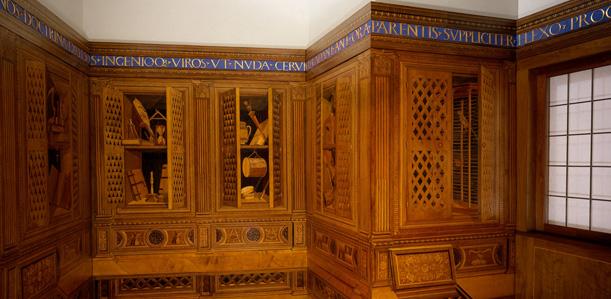 Studiolo from the Ducal Palace in Gubbio Designed by Francesco di Giorgio Martini (Italian, Siena 1439–1501 Siena), Metropolitan Museum of Art