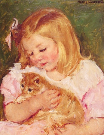 Mary Cassatt [Public domain], via Wikimedia Commons
