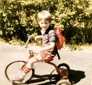 My son, Brian, circa 1985