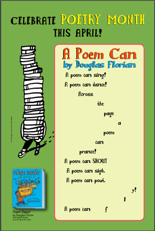 Find this poem and more poetry ideas in Penguin's Guide to Poetry in the Classroom here.