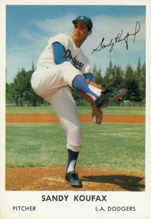 Hall of Fame Pitcher Sandy Koufax By Bell Brand ([1]) [Public domain], via Wikimedia Commons