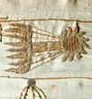 Comet detail of Bayeux Tapestry [Public domain], via Wikimedia Commons