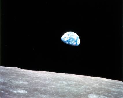 """Earthrise"" Image Credit: NASA"